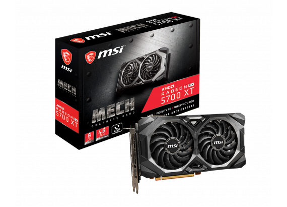 MSI RADEON RX 5700 XT MECH OC Graphic Card-Free Shipping In Australia