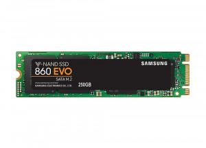 250GB Samsung MZ-N6E250BW 860 EVO M.2 SATA III SSD (2280)