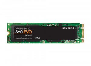 500GB Samsung MZ-N6E500BW 860 EVO M.2 SATA III SSD (2280)