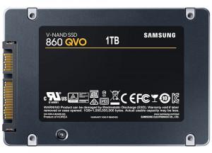 """1TB Samsung MZ-76Q1T0BW 860 QVO 2.5"""" SATA III SSD"""