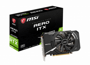 MSI GeForce RTX 2060 AERO ITX 6G OC GDDR6, HDMI*1, DP*3 - Free Shipping In Australia