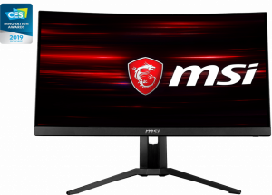 MSI LCD CURVED PANEL RGB BACK FRAMELESS OPTIX MAG271CQR - Monitor - Free Shipping In Australia