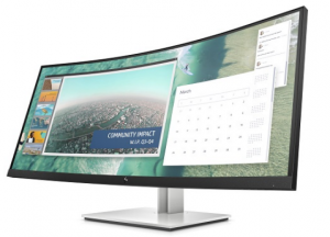 "HP E344c (6GJ95AA) 34"" Curved WQHD Monitor - Free Shipping In Australia"