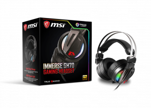 MSI IMMERSE GH70 S37-2100970-Y86 GAMING HEADSET