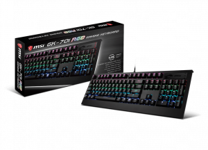 MSI VIGOR GK70 CR GAMING KEYBOARD