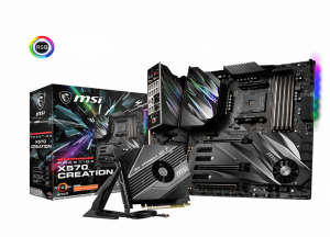 MSI Prestige X570 CREATION MOTHERBOARD - Free Shipping In Australia