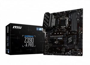 MSI Z390-A-PRO GAMING MOTHERBOARD